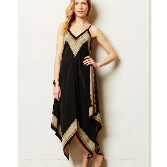 de557bbfa58fae Anthropologie Dresses   Skirts - Anthropologie Vanessa Virginia Estrella  Silk Dress